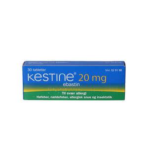 Kestine 20 mg 30 stk