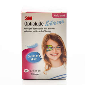 3M Opticlude Silicone Skeleplaster (pige/maxi)