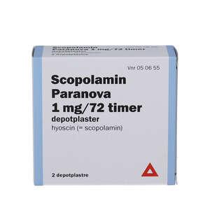 """Scopolamin """"Paranova"""" 1 mg/72"""