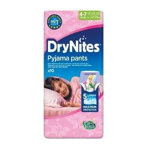 DryNites Pyjama Pants (piger 4-7år)