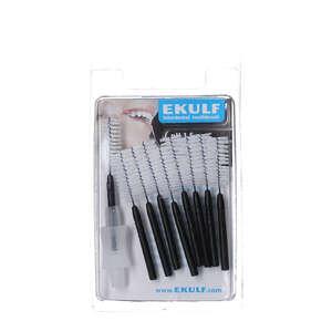 EKULF pH Interdentalbørster (Sort)