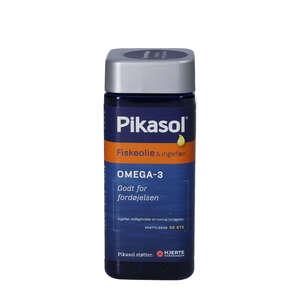 Pikasol Fiskeolie & Ingefær Kapsler
