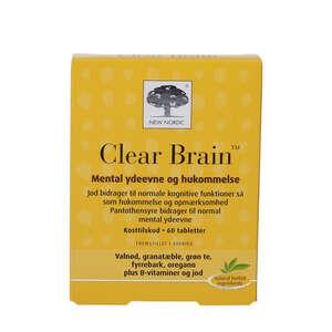 Clear Brain tabletter (60 stk)