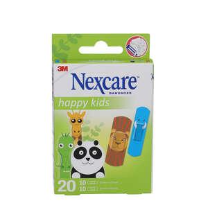 Nexcare Happy Kids Plastre (dyr)