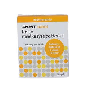 Apovit Rejse Mælkesyrebakterier (30 stk.)