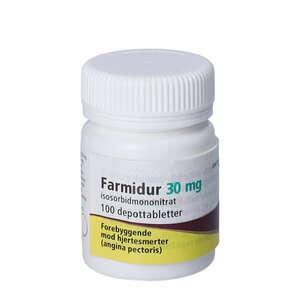 Farmidur 30 mg 100 stk