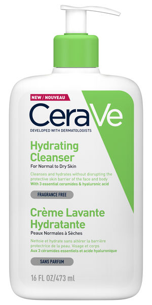 CeraVe Hydrating Cleanser (473 ml)