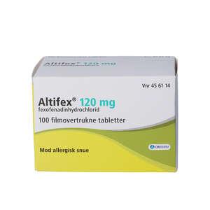 Altifex 120 mg 100 stk
