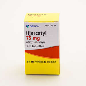 Hjercatyl 75 mg