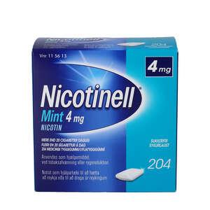 Nicotinell Mint 4 mg 204 stk
