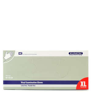 Klinion Protection Vinyl Handsker (XL-pudderfri)