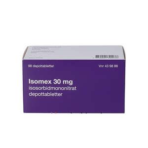Isomex 30 mg 98 stk